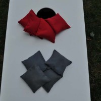 Scarlet (Red) and Grey Cornhole Bags for all the Ohio State Fans!