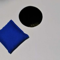 Single Royal Blue Corn hole Bag