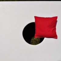 Single Red Weatherproof Cornhole Bag