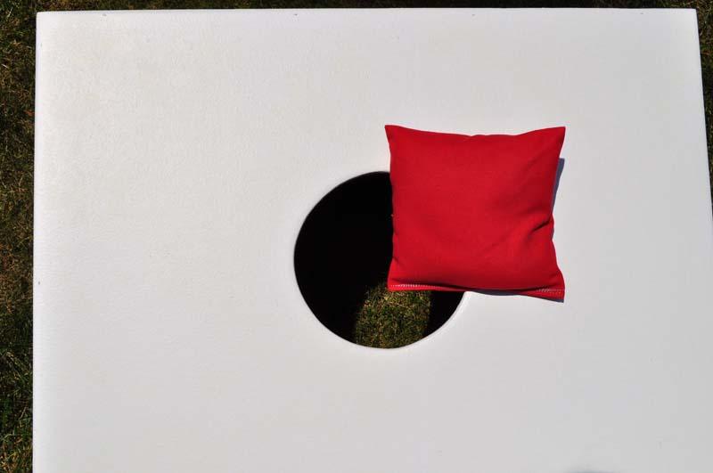 Single Red Weatherproof Bag